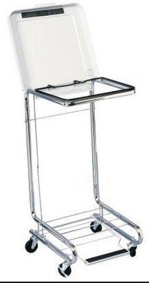 McKesson Entrust Performance Stand, hamper 18'', Tilt-top Square by McKesson