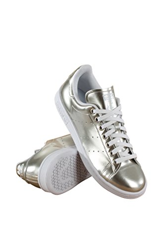 Adidas Stan Smith Donna Bianco / Metallico
