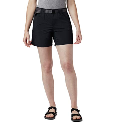 Columbia Women's Plus Size Sandy River Cargo Short, Black, 3X