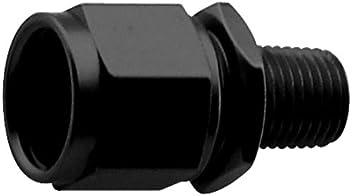 Fragola Performance Systems 229007-BL Black One Size # 8 Fem X #6 90 Deg Ucing Hose End