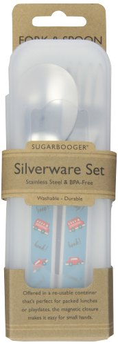 Sugarbooger Silverware Set, Vroom