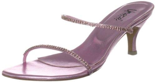 Unze Evening Sandals, Damen Sandalen Pink (L18781W)