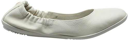 Blanc Bout white Softinos Ballerines Femme Smooth Fermé Ona380sof 022 7wq4Y