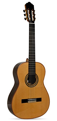 Giannini GNC-6 Professional Handcrafted Classical Nylon String Guitar with Solid Red Cedar Top, Rosewood Back & Sides