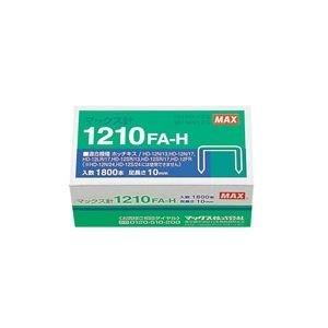 生活日用品 (業務用100セット) ホッチキス針 1210FA-H MS91172 1800本 ×100セット B074MLYMYK
