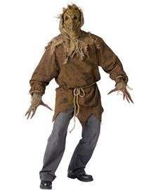 Scary Halloween Costumes For Men (SCARECROW ADULT)