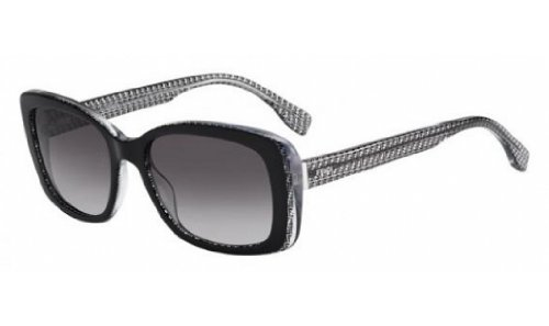 Fendi 0002/S Sunglasses-06ZV Black Crystal (EU Black Gradient - Sunglasses Fendi Black