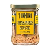 Tonnino Tuna Fillets, with Lemon Pepper & Olive Oil, 6.7 Oz