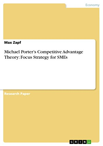 Competitive Advantage Michael Porter Ebook