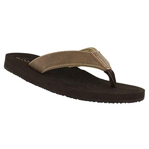 Cobian Floater 2 Men's Flip Flop Sandal - Mocha 11 M US