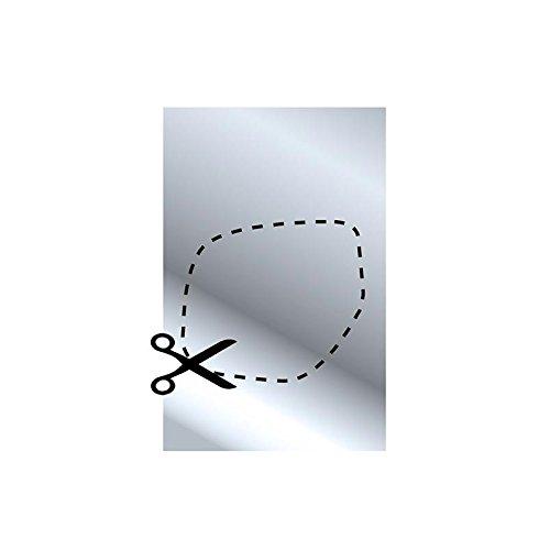 202 x 126 mm 1 x Multifunktionalen Spiegel schneidbar Abmessung