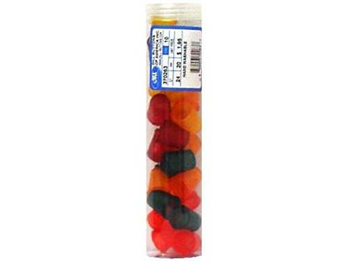 Dill Buttons Jelly Fingers Thimble 20mm 24/Tube Six Assorted ()