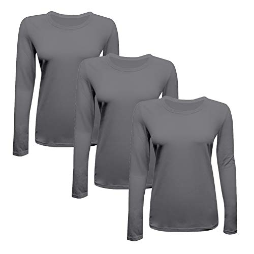 MAZEL UNIFORMS Womens Comfort Stretch Underscrub TEE Shirt by Natural Uniforms (Uniform Stretch Long Sleeve)