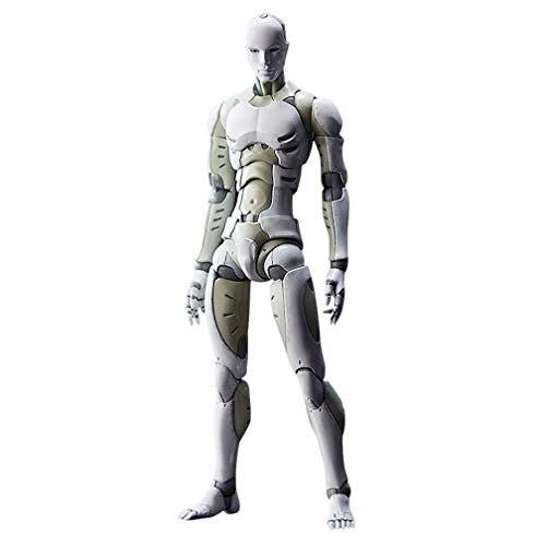 iGREATWALL Action Figures Model with Movable Joints Gestures,Model Stands Mannequin for Figure Drawing, Sketching (1/12 (6.3