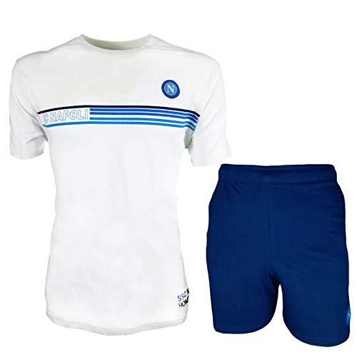 ssc napoli Completo Homewear T-Shirt+Short Bambino N90524