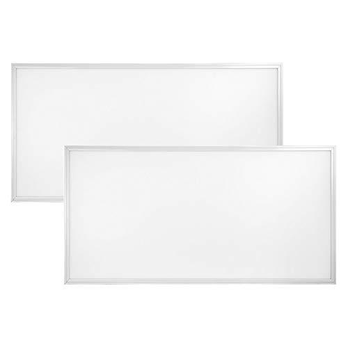 2-Pack, Premium 2ft x 4ft Flat Panel LED - 72 Watt - Dimmable - 9,360 Lumens (5000K)