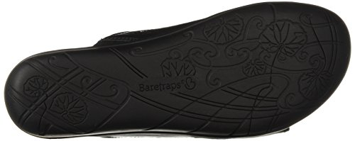 Baretraps Slide Jaylyn Donna Da Black Silver Sandal Us rqgwr