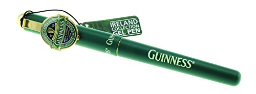 Gel Pen with St. James Gate Design (Single Pen) - Guinness Ireland Collection - Guinness Irish Label