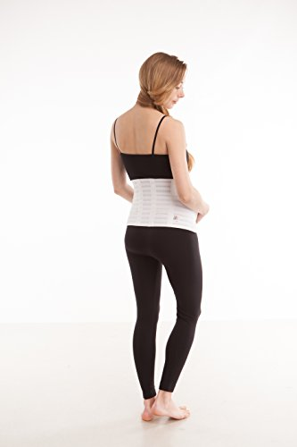 GABRIALLA Breathable Maternity/Back Support Belt For Multiples MS-99: White Medium by GABRIALLA (Image #3)