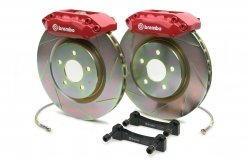 Brembo 1A5.6008A2 GT Big Brake Kit Front Slotted Volkswagen Golf (Brembo Volkswagen Golf)