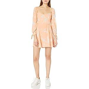 ASTR the label Women's Long Sleeve Windsor Mini Dress