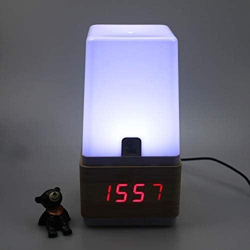 wodclockyui Despertadores Cama del Reloj de Escritorio con lámpara ...