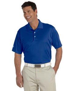 adidas Golf Mens Climalite Basic Short-Sleeve Polo (A130) -Collegiate -M