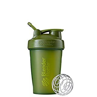 BlenderBottle Classic Loop Top Shaker Bottle, 20oz, Moss Green