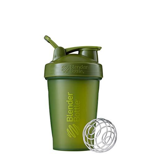 BlenderBottle Classic Loop Top Shaker Bottle, 20oz, Moss Green