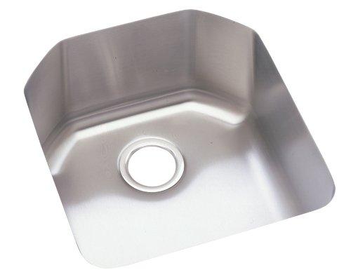 Elkay ELU1618 Harmony Lustertone Undermount Sink, Stainless (Undermount Group Stainless Steel Sink)