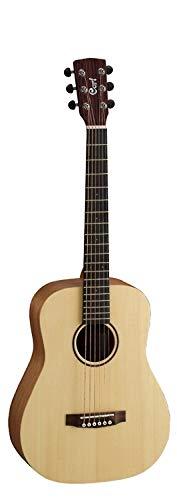 Adirondack Dreadnought Acoustic Guitar - Cort EARTHMINIOP 3/4 Dreadnought Acoustic Guitar Solid Adirondack Spruce Top, Natural Open Pore