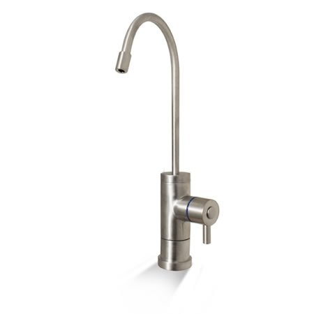 Luxury Non-Air Gap Faucet Brushed Stainless Finish RO Reverse Osmosis Drinking Water