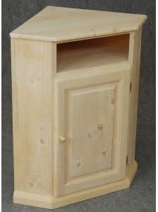barcler meuble d angle en pin brut
