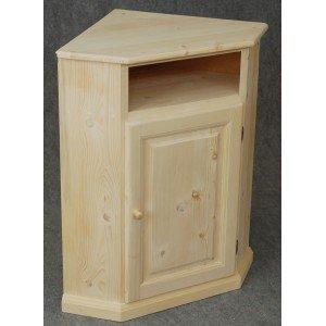 barcler - meuble d'angle en pin brut prêt à peindre: amazon.fr ... - Meuble D Angle De Cuisine