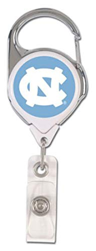 WinCraft Bundle 2 Items: North Carolina Tar Heels UNC Flashlight Keychain and 1 Premium Badge Reel Id Holder by WinCraft (Image #2)