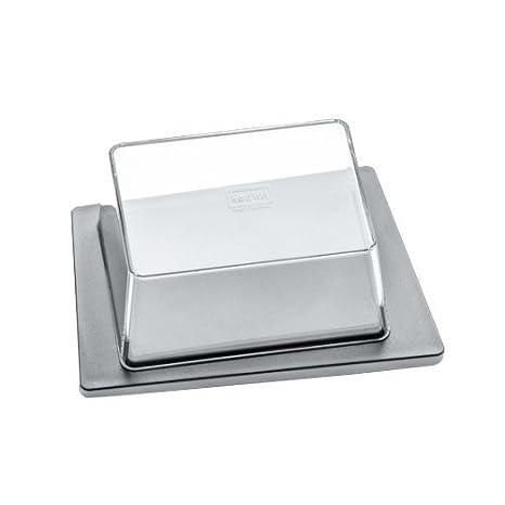koziol butter dish Rio 12.1 x 17.5 black//transparent anthracite thermoplastic