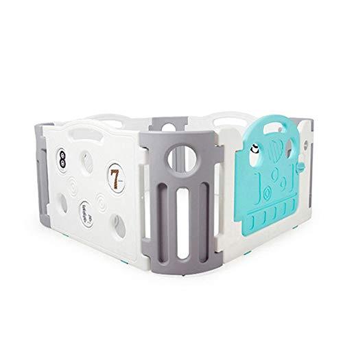Barandillas para Camas MAHZONG Baby Play Fence Children Activity Center Seguridad Zona de Juegos Hogar Interior y Exterior