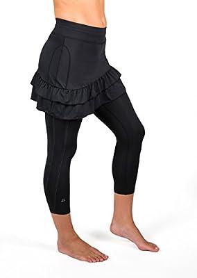Skirt Sports Women's Vixen Capri Skirt - Athletic Skirt with Capri Leggings