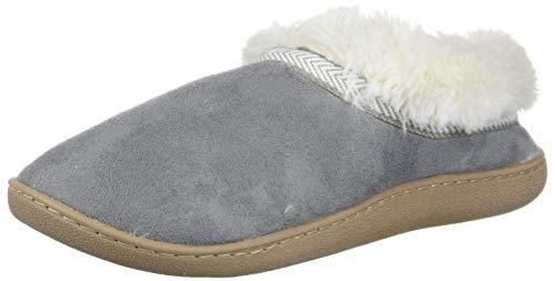 Dr. Scholl's Shoes Women's Tatum II Slipper, Light Grey Microfiber, 7 M US