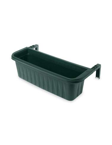 Adjustable Self-Watering Railing Planter, 24