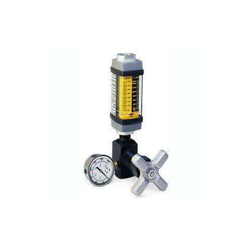 - Hedland Flow Meters (Badger Meter Inc) H761A-030-TK - Flow Rate Hydraulic Flow Meter - 30 gpm Max Flow Rate, SAE-16 1 NPTF in Port Size
