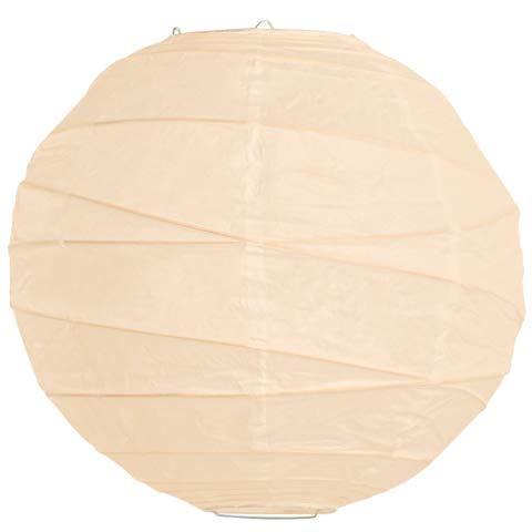 LANTERNSANDMORE Ivory Criss Cross Paper Lanterns-16 - Rice Lanterns Eyelet Paper