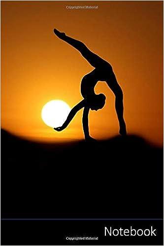 Notebook Gymnaste Coucher De Soleil Silhouette Sport