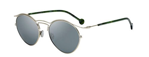 RIGINS 1 3YG/T4 Light Gold Green Marble/Grey Sunglasses ()