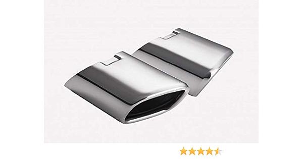 CARTUNER® Tubo de escape ML W164, 105 x 80 mm, acero inoxidable