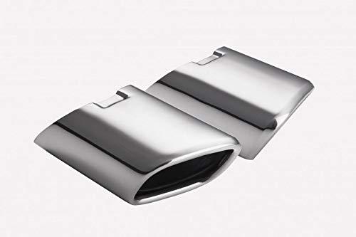CARTUNER/® Auspuffblende Endrohr ML W164 105x80mm Edelstahl