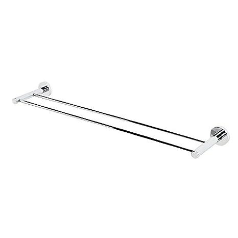 """Nickel Alno A8320-24  Contemporary I 24/"""" Wide Single Towel Bar"""