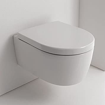 Turbo NEG Hänge-WC Uno11RK (Tiefspüler/randlos/kurz) Toilette ohne  YB69
