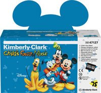 (Kimberly Clark Healthcare 32856 Face Mask With Earloop Child Disney 75/Bx)