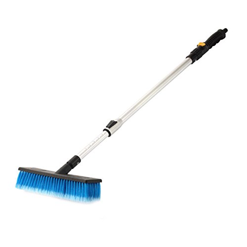 GohEun Telescopic Water Fed Window Van Car Vehicle Wash Brush New with Long (Wizard Face Painting)